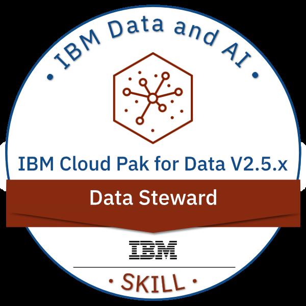 IBM Cloud Pak for Data V2.5.x Data Steward