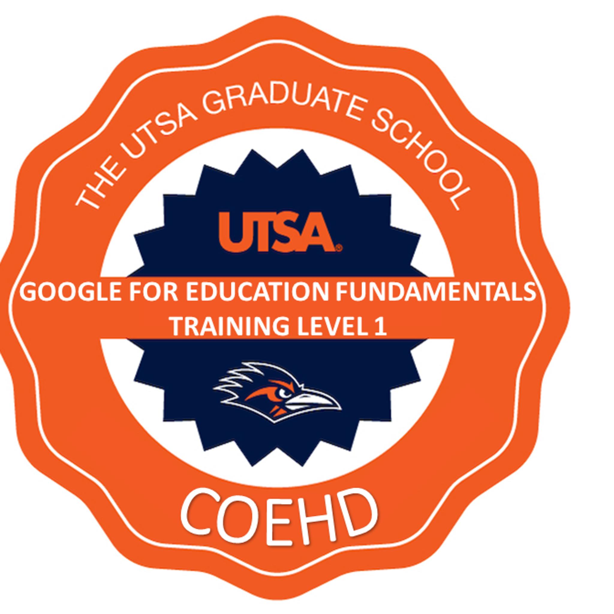 COEHD: Google for Education Fundamentals Training Level 1