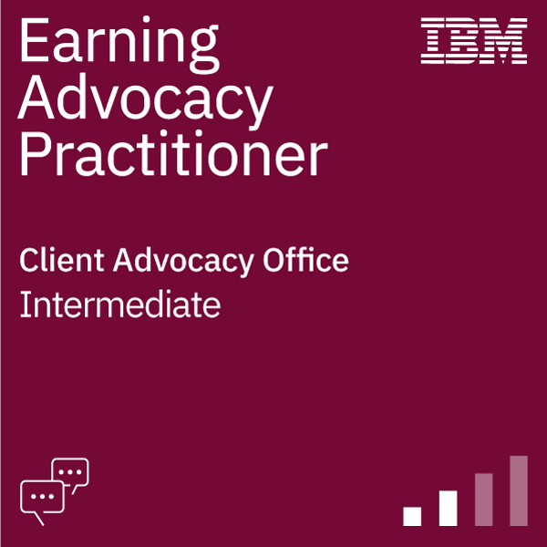 Earning Advocacy Practitioner