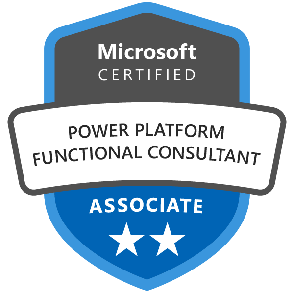 Microsoft Certified: Power Platform Functional Consultant Associate