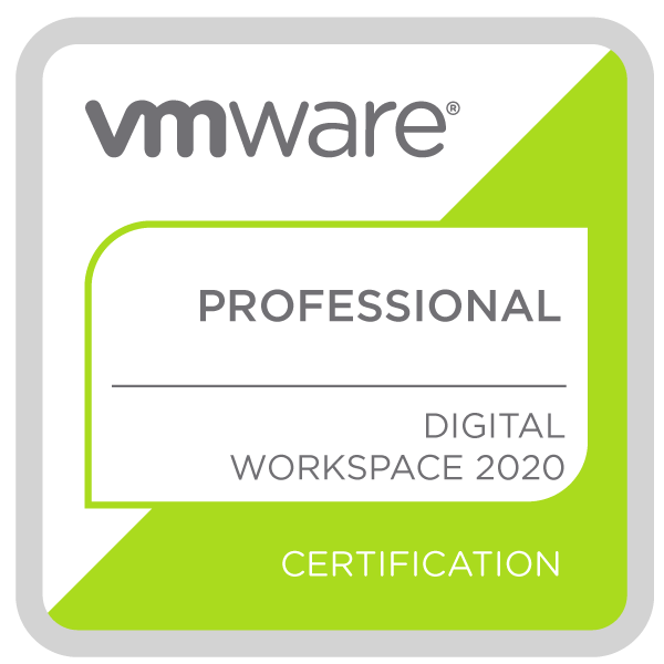 VMware Certified Professional - Digital Workspace 2020