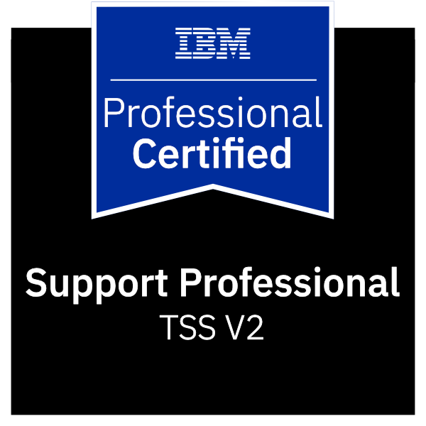 IBM Certified Support Professional - TSS V2