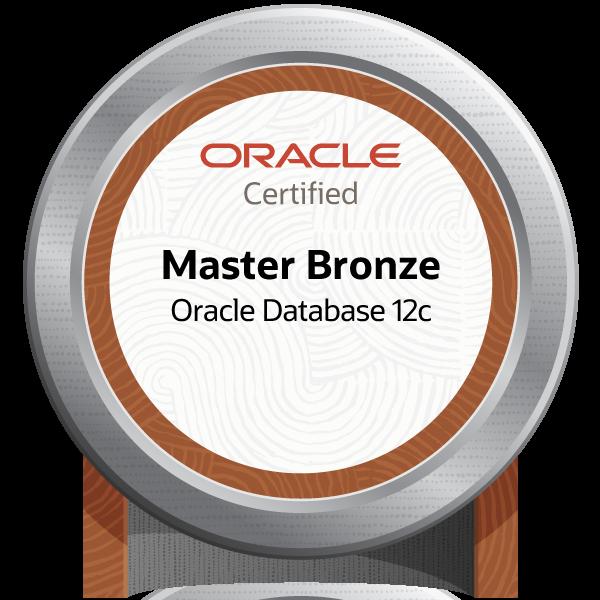 ORACLE MASTER Bronze Certified Oracle Database 12c - JPN