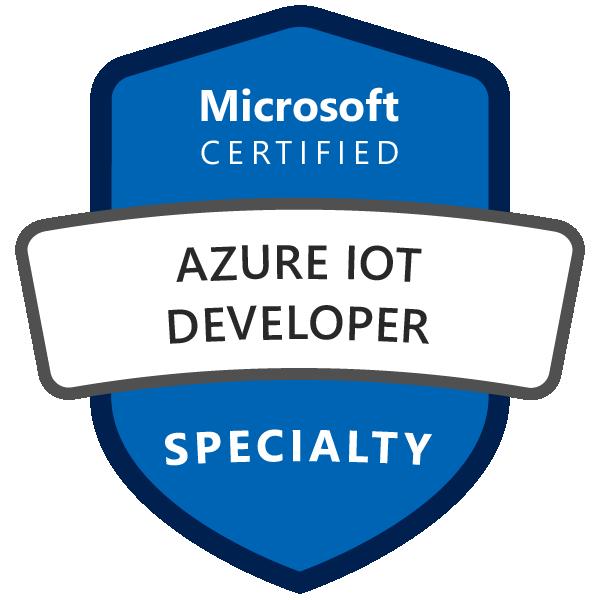 Microsoft Certified: Azure IoT Developer Specialty