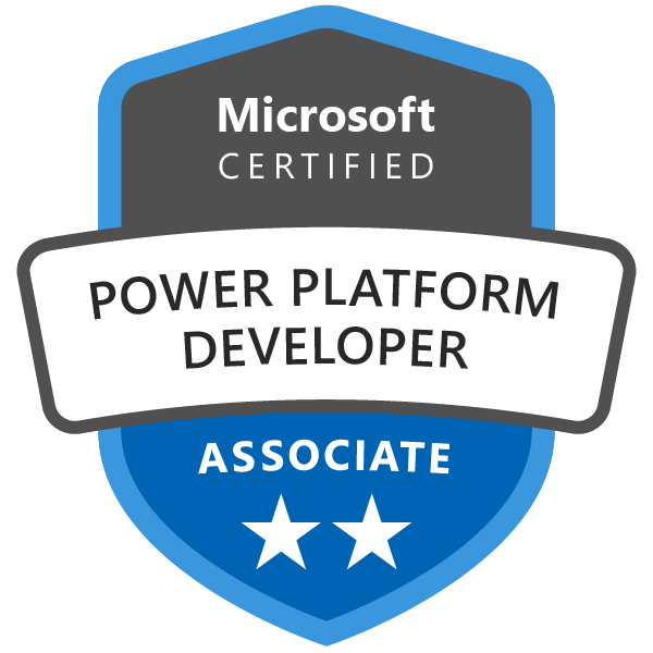 Microsoft Certified: Power Platform Developer Associate - Credly