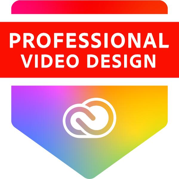 Adobe Certified Professional in Video Design