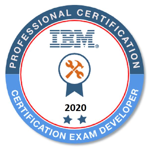 IBM Certification Exam Developer 2020 - Level II