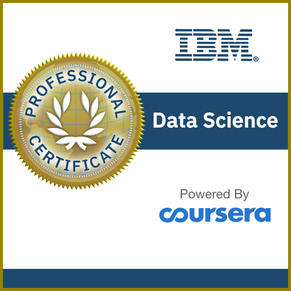 Data Science Professional Certificate