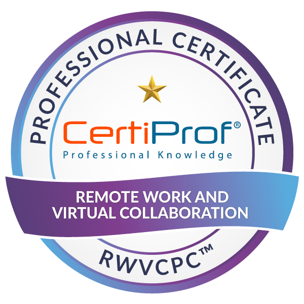 Remote Work and Virtual Collaboration Professional Certificate - RWVCPC