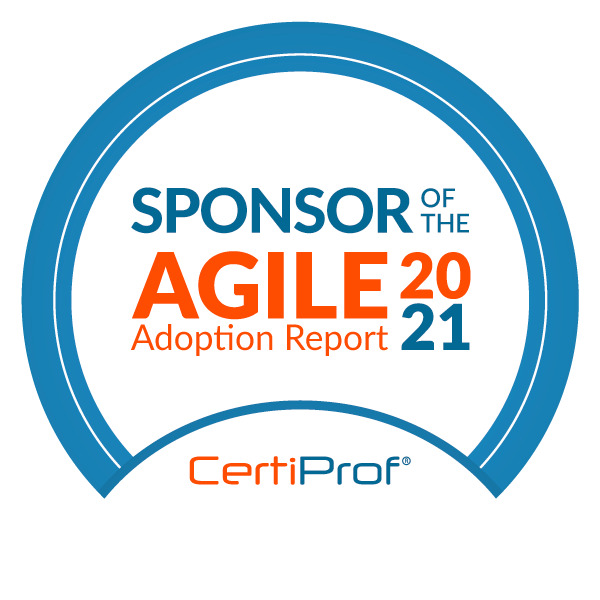 Sponsor of the Agile Adoption Report 2021