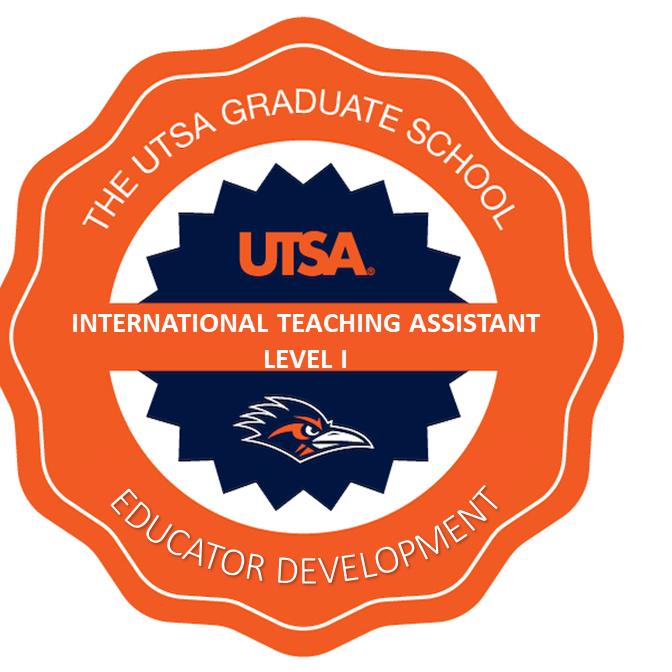 EDUCATOR DEVELOPMENT: Level I International Teaching Assistant