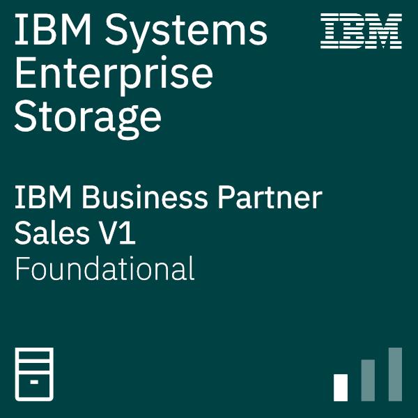 IBM Systems Business Partner for Enterprise Storage – Sales V1