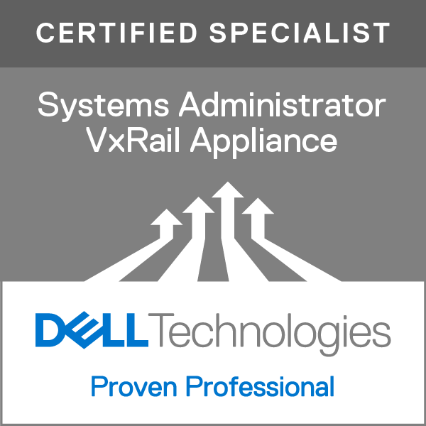 Specialist – Systems Administrator, VxRail Appliance Version 1.0