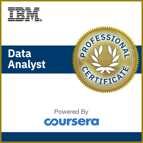 Data Analyst Professional Certificate