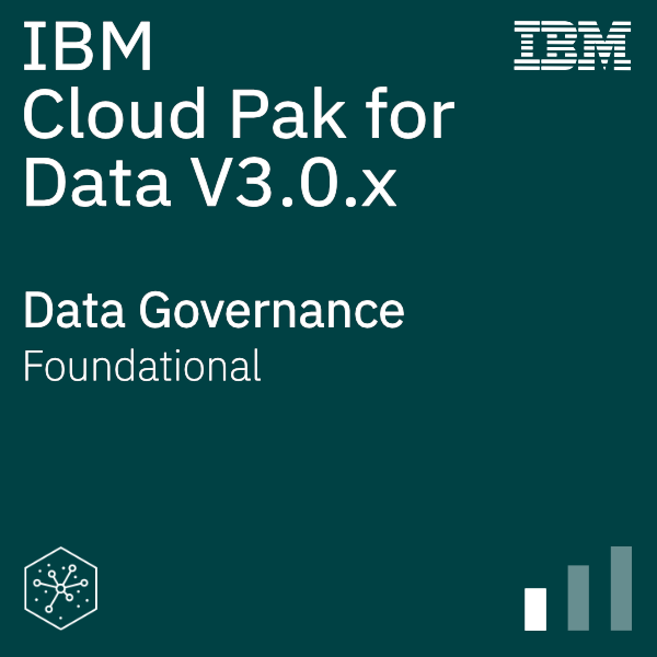 IBM Cloud Pak for Data V3.0.x Data Governance