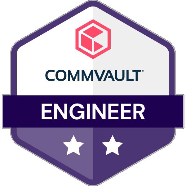 Commvault Certified Engineer