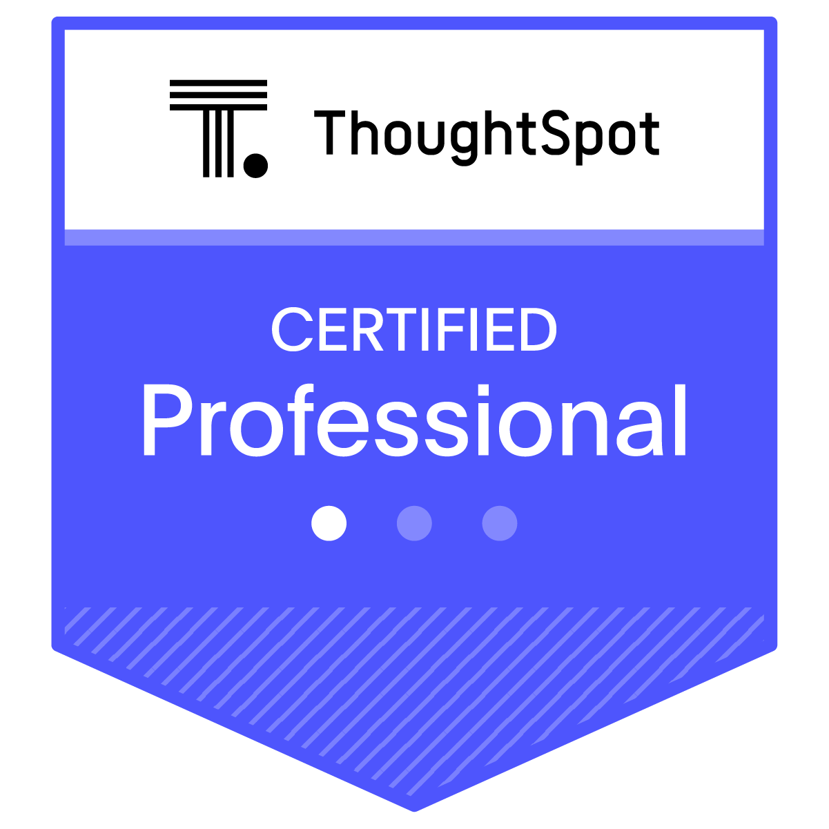 Certified ThoughtSpot Professional