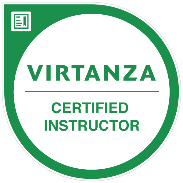 Virtanza Certified Instructor