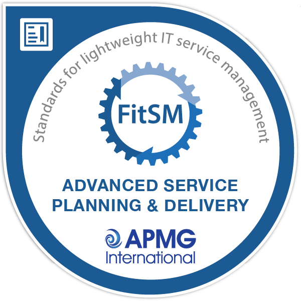 FitSM® Advanced Service Planning and Delivery