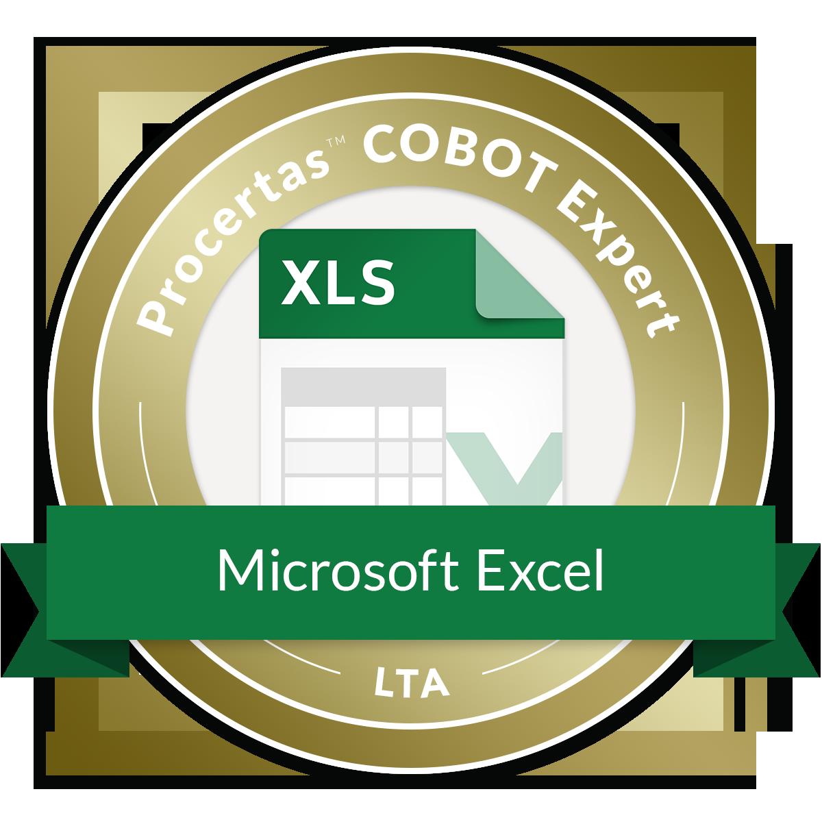 COBOT Expert - Excel