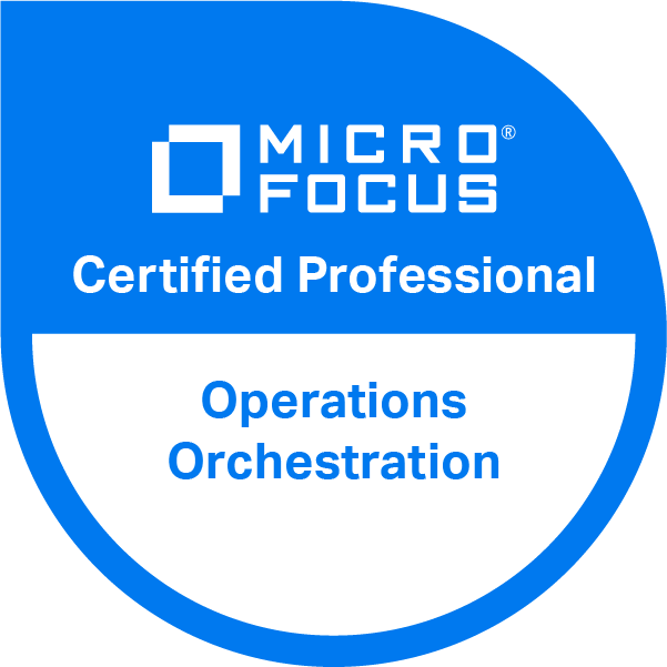Operations Orchestration v10.x. Certified Professional