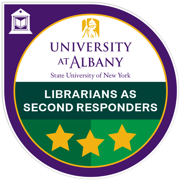 Librarians as Second Responders