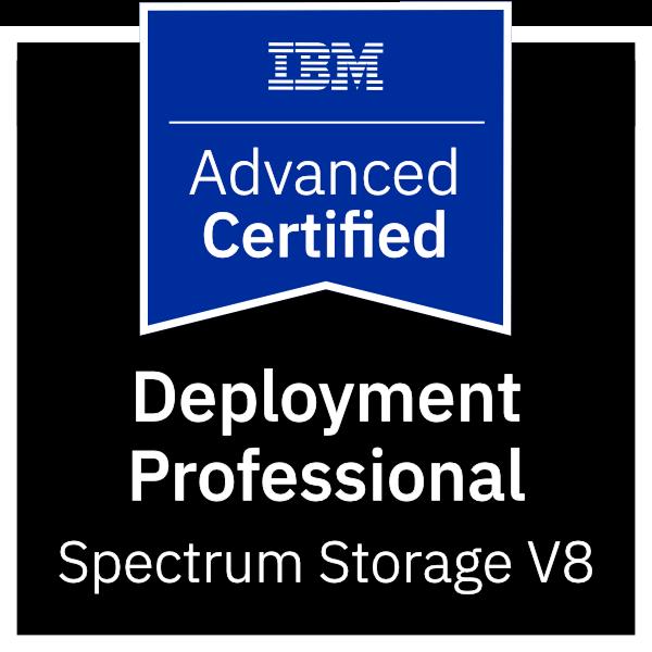 IBM Certified Advanced Deployment Professional - Spectrum Storage V8