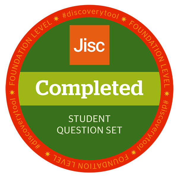 Jisc discovery tool - Student