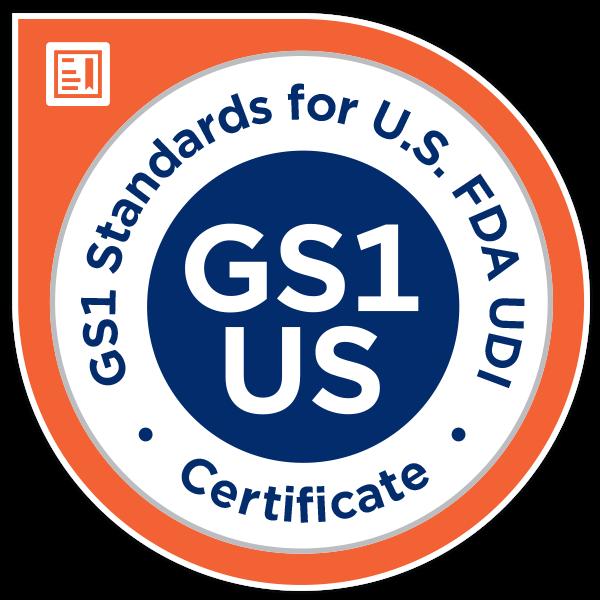 GS1 Standards for U.S. FDA UDI Online Certificate