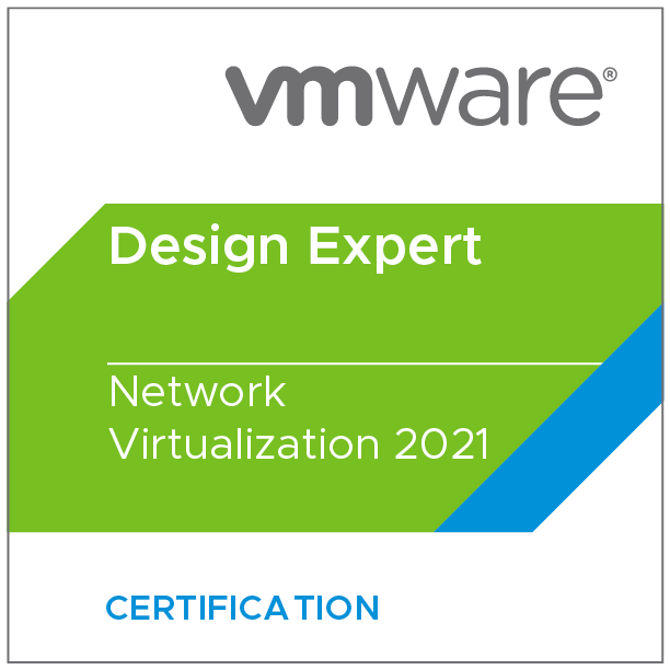 VMware Certified Design Expert - Network Virtualization 2021
