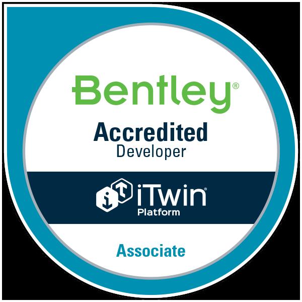 Bentley Accredited Developer: iTwin Platform - Associate