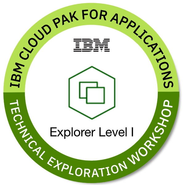 IBM Cloud Pak for Applications - Explorer