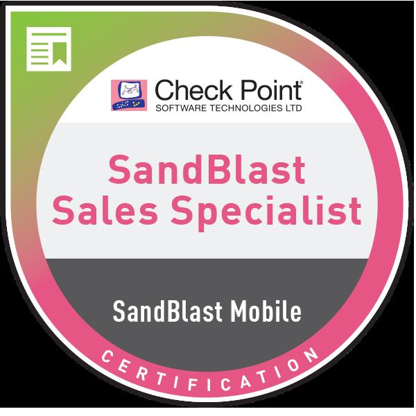 CCSBMS – SandBlast Mobile sales certification