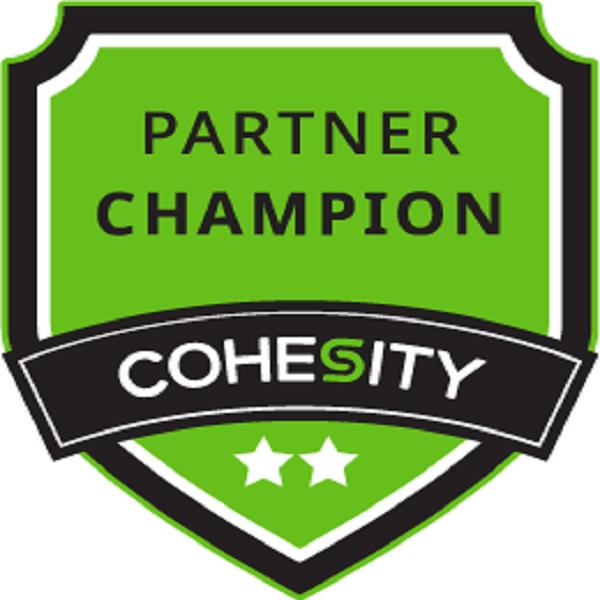Cohesity Partner Champion – Level 2