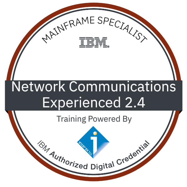 Interskill - Mainframe Specialist - Network Communications - Experienced 2.4