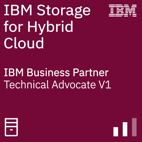 IBM Systems Business Partner Storage for Hybrid Cloud - Technical Advocate V1