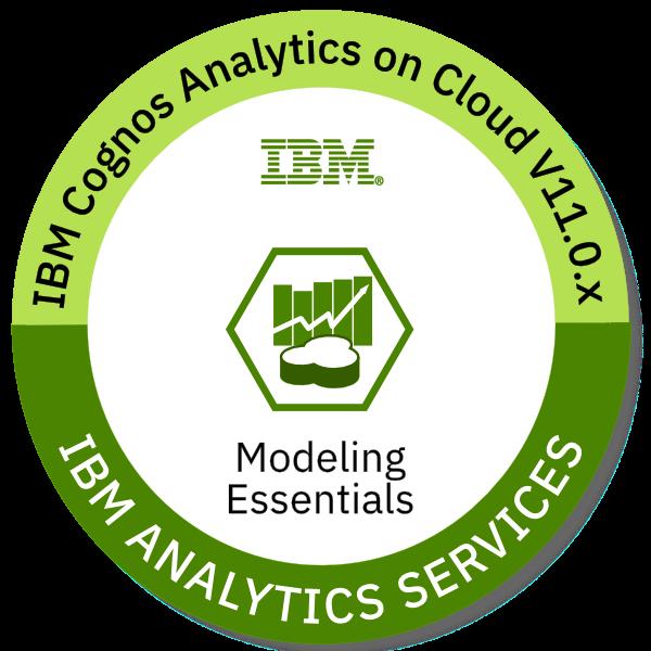 IBM Cognos Analytics V11.0.x Modeling Essentials