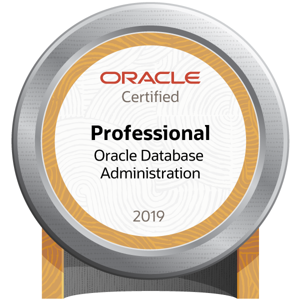 Oracle Database Administration 2019 Certified Professional