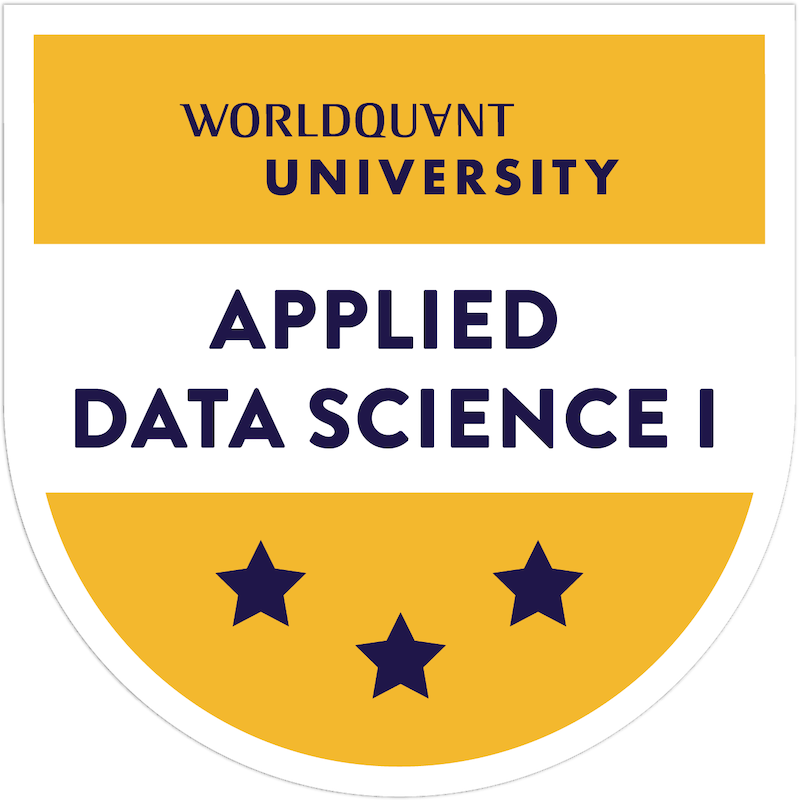 Applied Data Science I: Scientific Computing & Python (with honors)