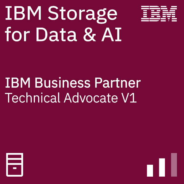 IBM Systems Business Partner Storage for Data and AI - Technical Advocate V1