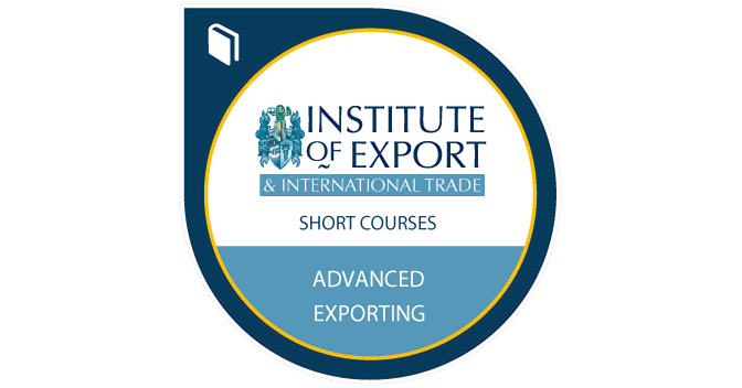 Advanced Exporting Training Course - Credly