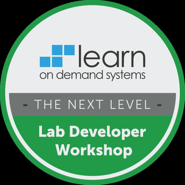 Lab Developer Workshop - Taking Labs to the Next Level