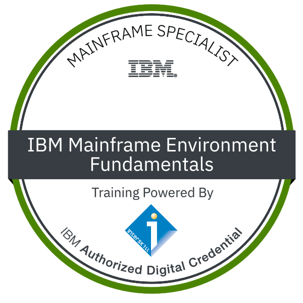 Interskill - Mainframe Specialist - IBM Mainframe Environment - Fundamentals