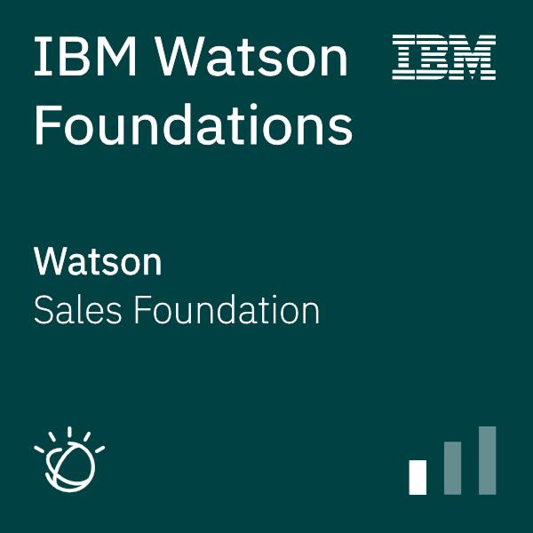 Watson Foundations Sales Foundation