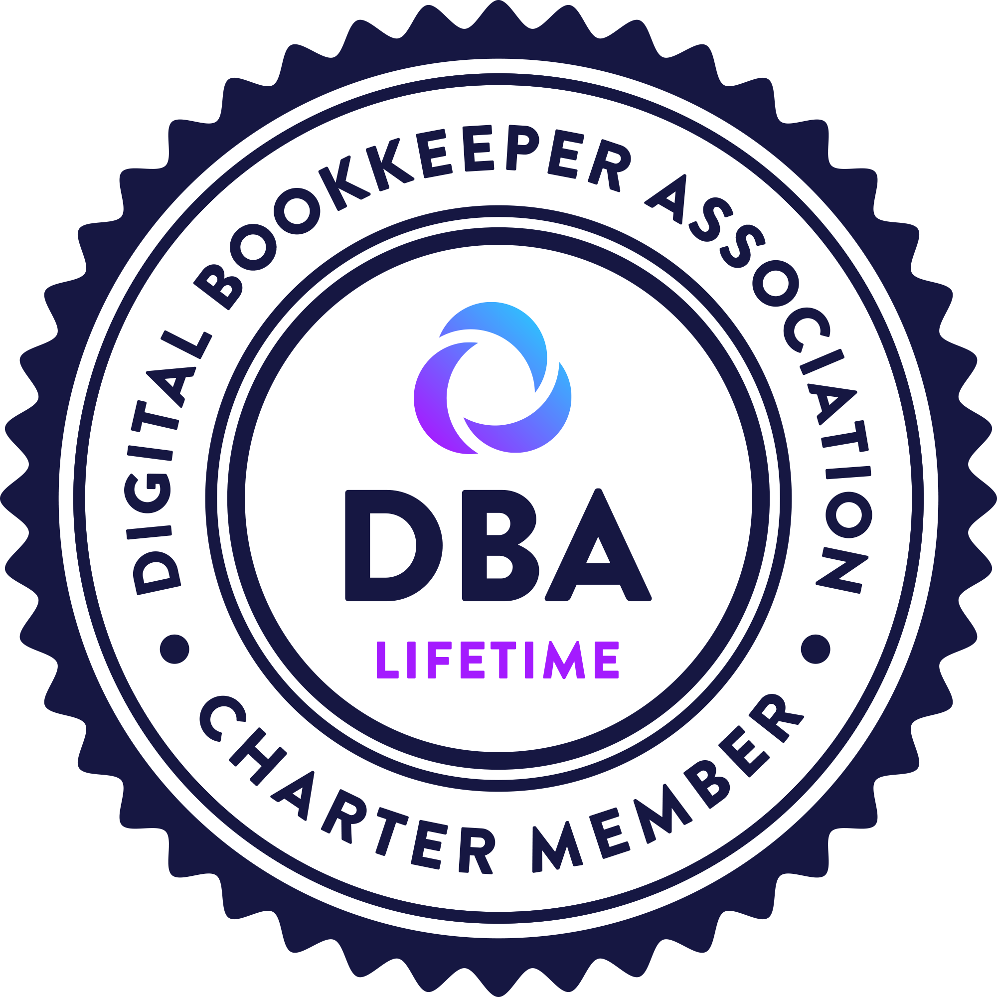 Digital Bookkeeper Association Lifetime Charter Member