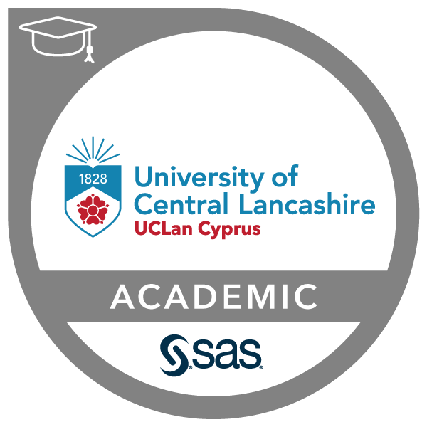 SAS - University of Central Lancashire Cyprus Joint Certificate in Business Intelligence and Data Mining