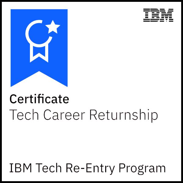 IBM Tech Re-Entry