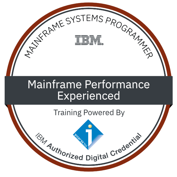 Interskill - Mainframe Performance – Experienced