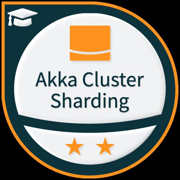 Lightbend Akka Cluster Sharding (Java) - Level 2