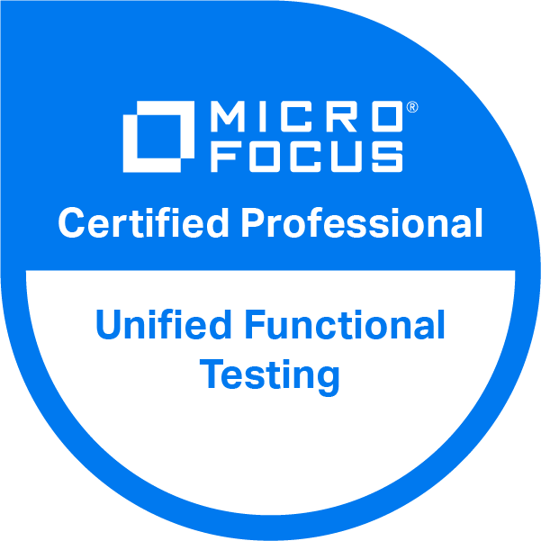 Unified Functional Testing v14.x Certified Professional